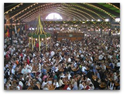 oktoberfest-augustiner-tent-crowded & Oktoberfest pictures - photos of Oktoberfest!