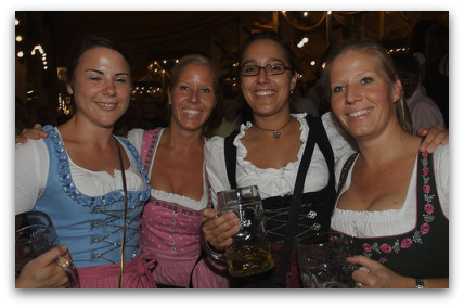 oktoberfest-four-cute-girls