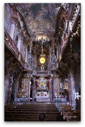 asamkirche inside