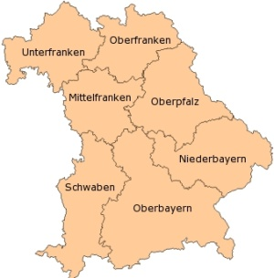 Map Of Germany Bavaria.Where Is Bavaria Info And Map Of Bavaria