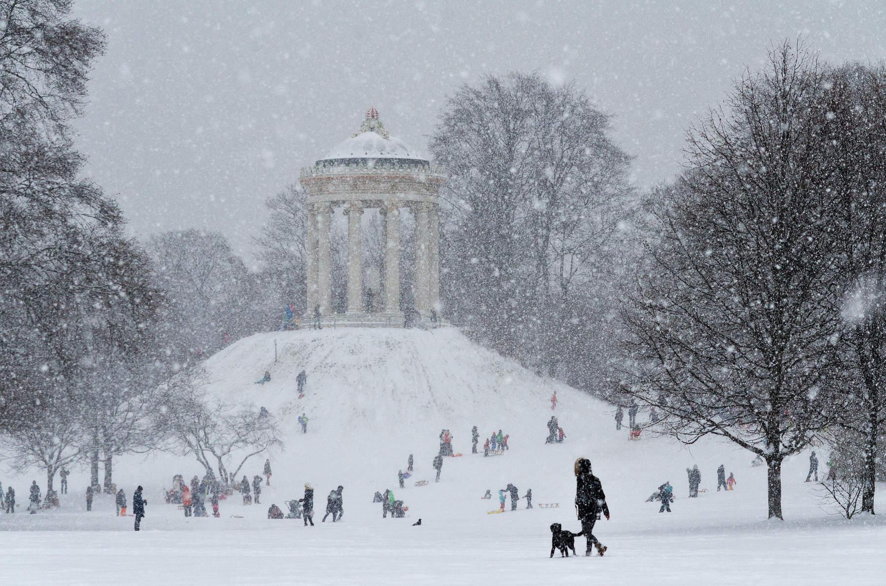 Does it snow in Munich Luis Gervasi