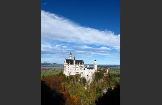 You can visit fairy-tale castles...