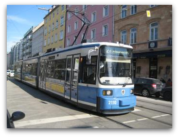 munich tram