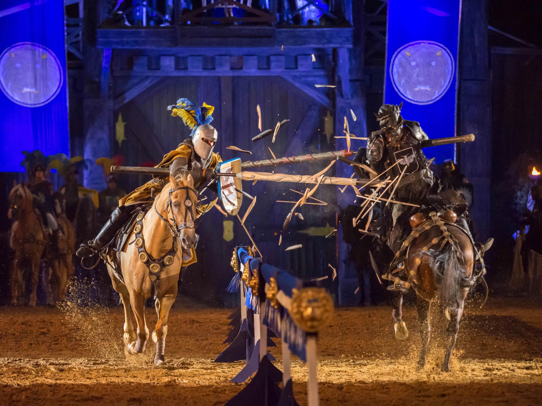 Kaltenberg Knights Festival action