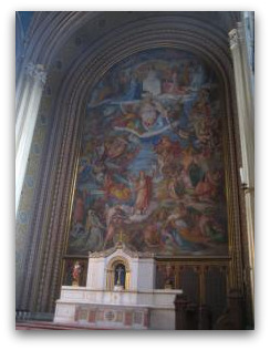 Ludwigs kirche frescoe