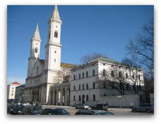 Ludwigs kirche outside