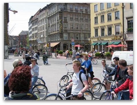 Munich by bike discover Munich cycling