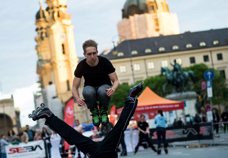 Munich-streetlife-performers