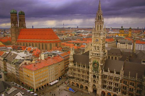 Tourist attractions Munich the Top 10 Munich sights and attractions – Munich Tourist Attractions Map