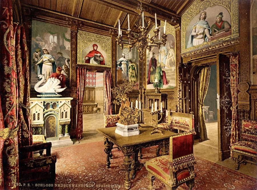 Neuschwanstein-dining-room