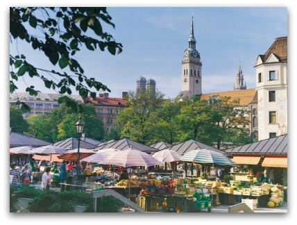 viktualienmarkt munich 39 s market. Black Bedroom Furniture Sets. Home Design Ideas