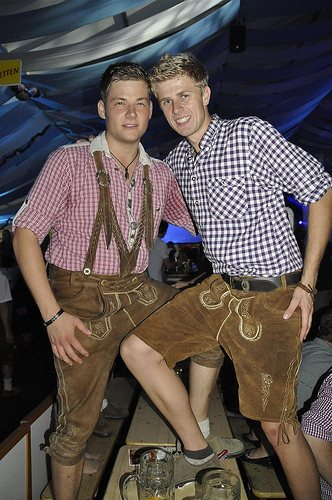 traditional german lederhosen