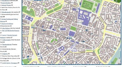 map of Munich