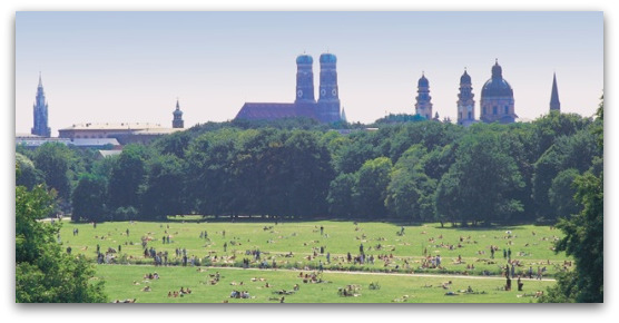 munich-park-skyline