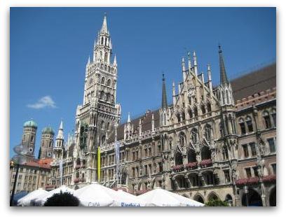 Neues Rathaus Munich sightseeing