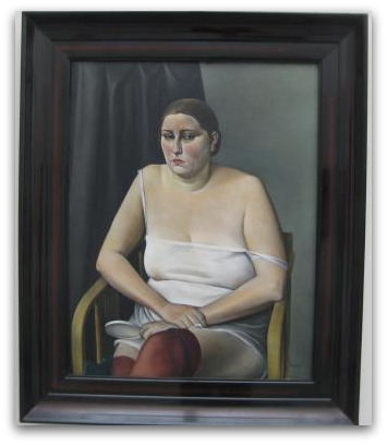 Pinakothek der Moderne lady